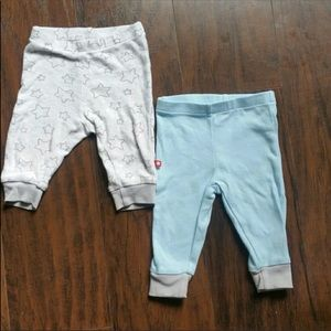 Baby boy pants joggers sweats 100% cotton Stars 3M